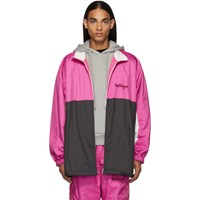 Doublet Pink Chaos Embroidery Track Jacket
