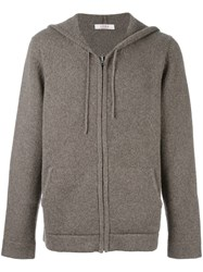 Liska Knitted Hoodie Nude And Neutrals