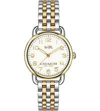 Coach 14502243 Dalaney Gold Plated Stainless Steel Watch