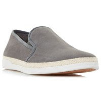 Dune Benjami Slip On Shoes Grey