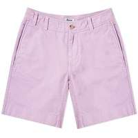 Acne Studios Robin Garment Dyed Twill Short Purple