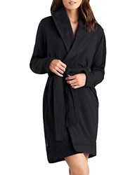 Ugg Shawl Collar Robe Black