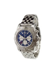 Breitling 'Chronomat Gmt' Analog Watch Stainless Steel