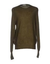 Crossley Sweaters Military Green