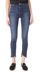 Joe's Jeans Charlie High Rise Skinny Ankle Dark Blue