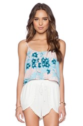 Lovers Friends Wander Away Cami Blue