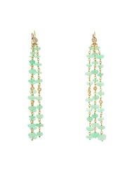 Maurizio Pintaldi Diamond And Chrysoprase Earrings