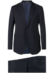 Emporio Armani Slim Fit Two Piece Suit Black