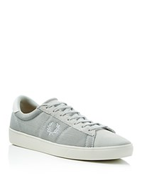 Fred Perry Spencer Lace Up Sneakers Dolphin Grey