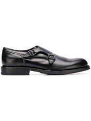 Pantanetti Buckled Monk Shoes Black