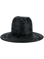 The Viridi Anne Wide Brim Hat Black