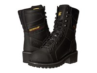 Caterpillar Casebolt Waterproof Tx Steel Toe Black Men's Work Lace Up Boots