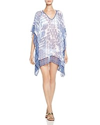 Tommy Bahama Stamp Medallion Tunic Swim Cover Up