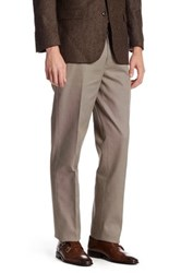 Brooks Brothers Houndstooth Trouser Beige
