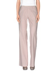 Jucca Trousers Casual Trousers Women Light Pink