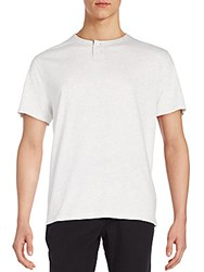 Life After Denim Hachiko Henley Tee White