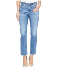 Ag Adriano Goldschmied Isabelle High Rise Straight Crop In 14 Years Daring 14 Years Daring Women's Jeans Blue