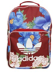 Adidas Originals By Farm Flower Printed Nylon Backpack