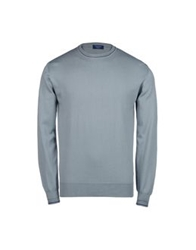 Edward Spiers Sweaters Light Grey