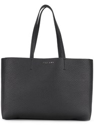 Orciani Shopping Tote Bag Black