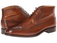 Massimo Matteo 5 Eye Chukka Wing Tan Men's Lace Up Boots