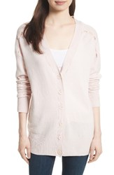 Equipment Women's Gia Wool And Cashmere Cardigan Ballet Pink