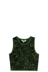 Opening Ceremony Cabbage Tank Top Green