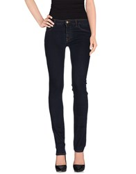Manila Grace Denim Denim Denim Trousers Women Blue
