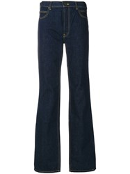 Calvin Klein 205W39nyc Flared Jeans Cotton Blue