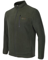 Greg Norman For Tasso Elba Men's Big And Tall 5 Iron Fleece Jacket Only At Macy's Climbing Ivy
