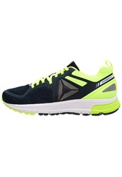 Reebok One Distance 2.0 Cushioned Running Shoes Navy Yellow Pewter White Dark Blue