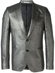 Paul Smith Two Button Blazer Metallic