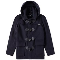 Gloverall Shorty Duffle Coat Blue
