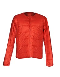 Descente Down Jackets Orange