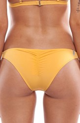Rhythm Women's My Cheeky Bikini Bottom Mango