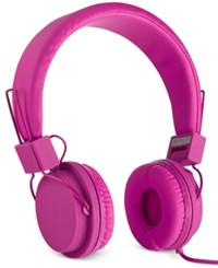 Polaroid Foldable Headphones Pink