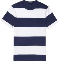 Polo Ralph Lauren Triped Cotton Jerey T Hirt Navy