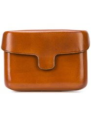 Christophe Lemaire Classic Wallet Brown