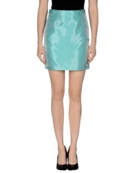 Related Mini Skirts Turquoise