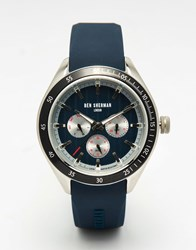 Ben Sherman Islington Multi Function Watch In Blue Blue