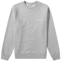 Carhartt Script Embroidery Sweat Grey