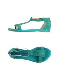 Luca Stefani Sandals Green