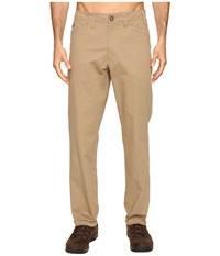 Exofficio Cano Pants Walnut Men's Casual Pants Brown