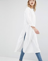 Dr. Denim Dr Oversized Shirt White