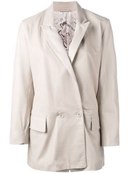 S.W.O.R.D 6.6.44 Buttoned Jacket Nude Neutrals