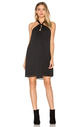 Wayf Head Over Mini Dress Black