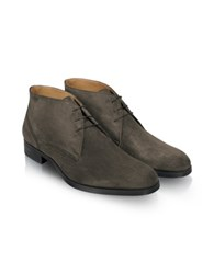 Moreschi Stiria Gray Suede Ankle Boots