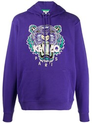 Kenzo Tiger Embroidered Hooded Sweatshirt 60