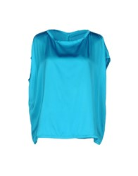 Jucca Blouses Turquoise