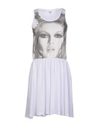 Brigitte Bardot Short Dresses White